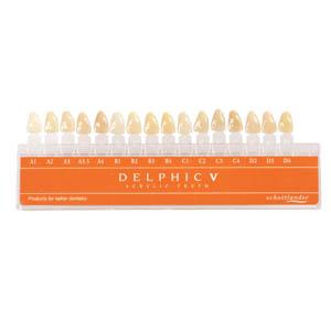 Delphic V Shade Guide
