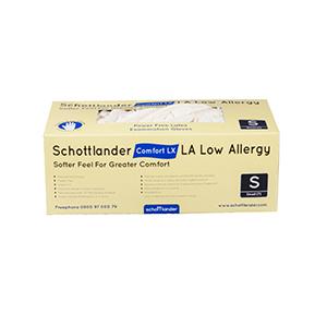Schottlander Comfort LX LA Low Allergy Examination Gloves