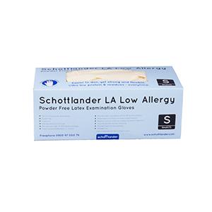 Schottlander LA Low Allergy Powder Free Examination Gloves